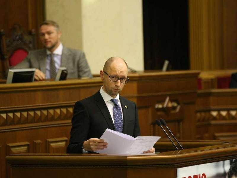 Политолог: Яценюк сделал то, чего вукраинской политике еще небыло